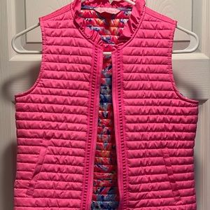 Lilly Pulitzer Girls' Puff Vest